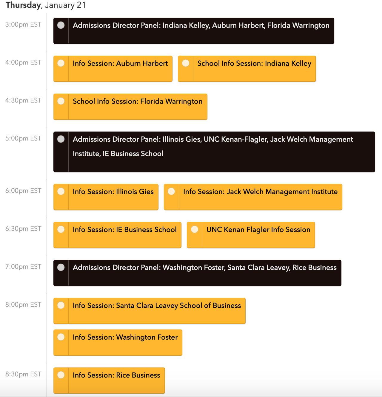 EV-OMBA Event Schedule 1.12